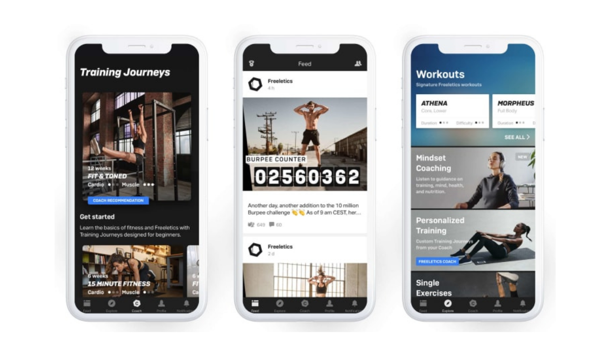Freeletics Fitness App 2021 Review: Super Effecient Workouts For Home With a Virtual Coach